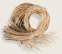 Rindleder Rundriemen 2mm, 100cm, natur
