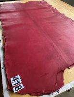 Chrombinderiemenhecht 3-3,5mm beidseitig rot