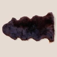 Lammfell 1,5-fach dunkelbraun