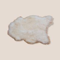 Island-Lammfell Langhaar weiß