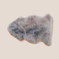 Lammfell,  grau