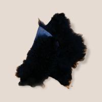 Tibet-Lammfell  schwarz