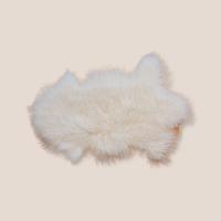Tibet-Lammfell  naturweiß