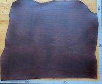 Blanklederhals 3mm bs dunkelbraun