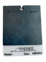 Master Büffelnappa, gewachst, Antik-Effekt blue