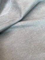 Vintage, nubukiertes Rindleder Fleckschutz grau