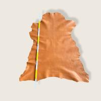 Ziegen Nappa, semianilin, +/- 1,0mm, hydrophobiert, bernstein