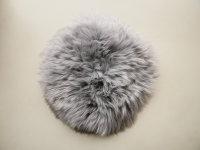 Lammfell rund +/- 35cm grau