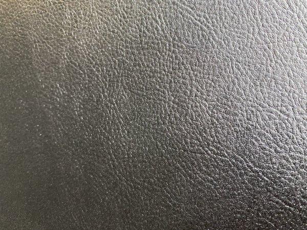 Blankleder Kernstück 1,8-2,0 mm Walknarbenprägung schwarz