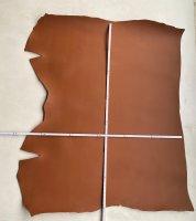 Blankleder Kernstück 1,8-2,0 mm Walknarbenprägung cognac