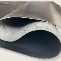 Blankleder Kernstück +/- 1,7mm Walknarbenprägung schwarz