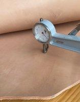 Blanklederhals Kulatte +/- 3,5mm