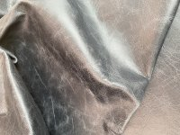 Büffelnappa Antikeffekt schwarz +/- 1,3mm