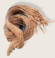 Rindleder Fellriemen 2,5mm, 100cm, natur
